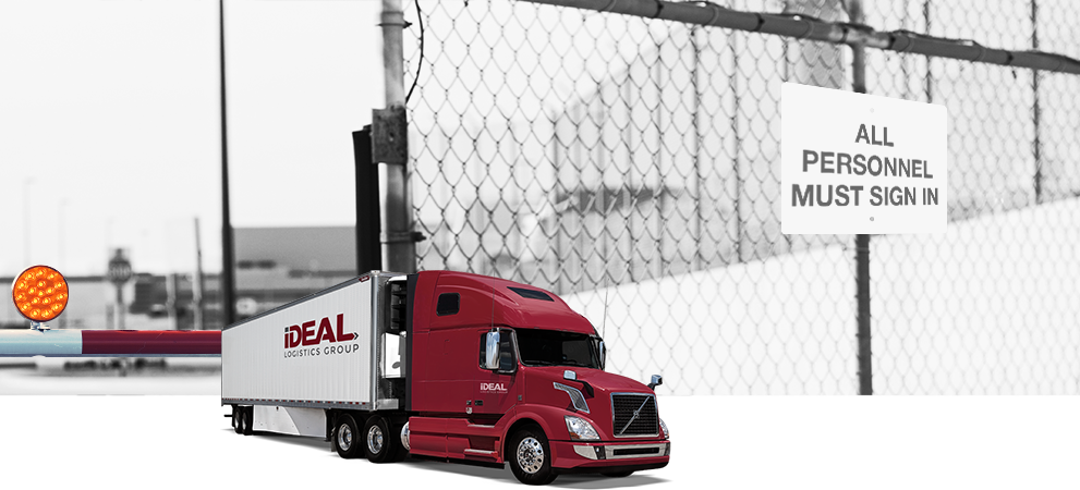 Ideal logistics truck in the USA